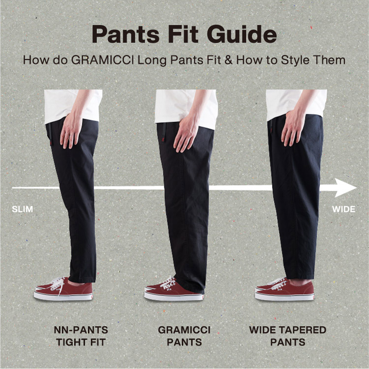 Pants Fit Guide