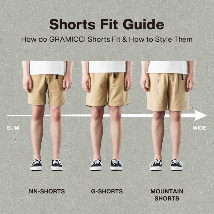 Shorts Fit Guide
