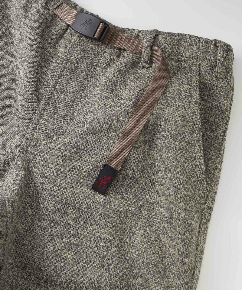 グラミチBONDING KNIT FLEECE NARROW RIB PANTS | ボンディングニットフリースナローリブパンツ